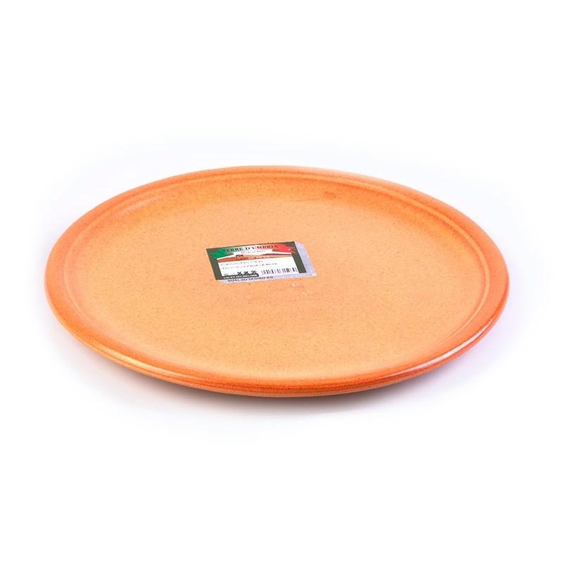 Plato base Tabacco De Silva Ceramiche