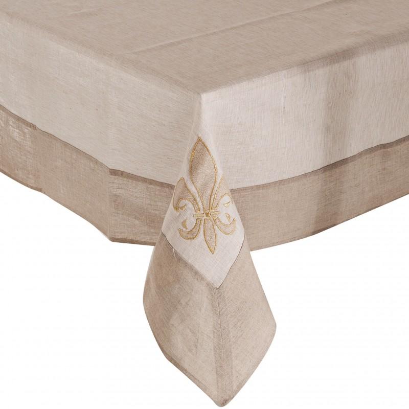 Mantel algodón / lino / viscosa Flor Haus