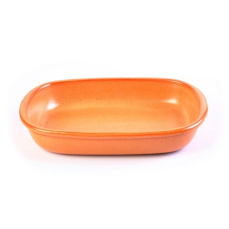 Fuente rectangular Tabacco De Silva Ceramiche