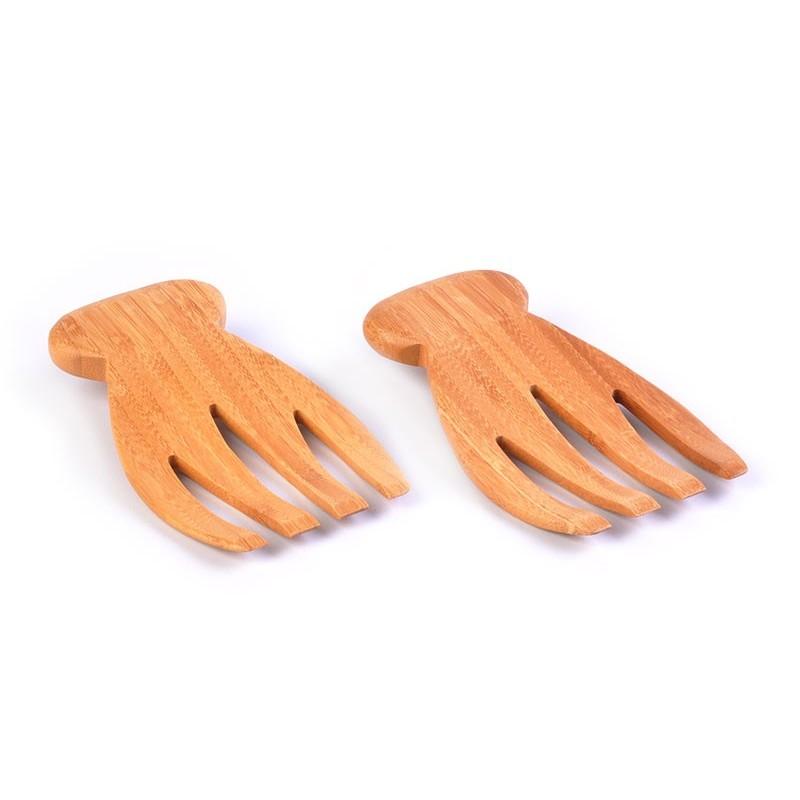 Juego de 2 tenedores para servir Totally Bamboo