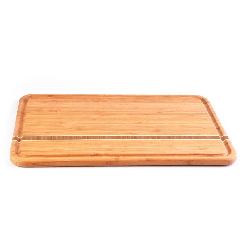 Tabla para picar con canal Totally Bamboo