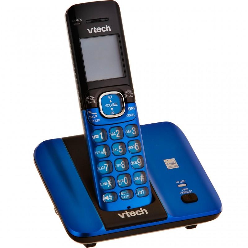 Teléfono inalámbrico con identificador de llamadas CS6519 Vtech