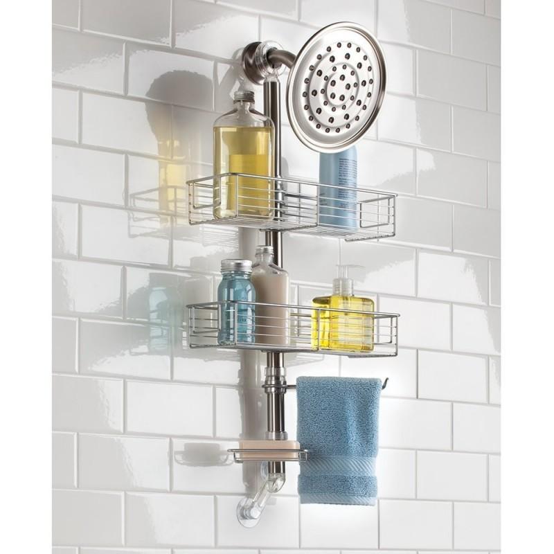 Organizador para ducha Tensión Forma Interdesign