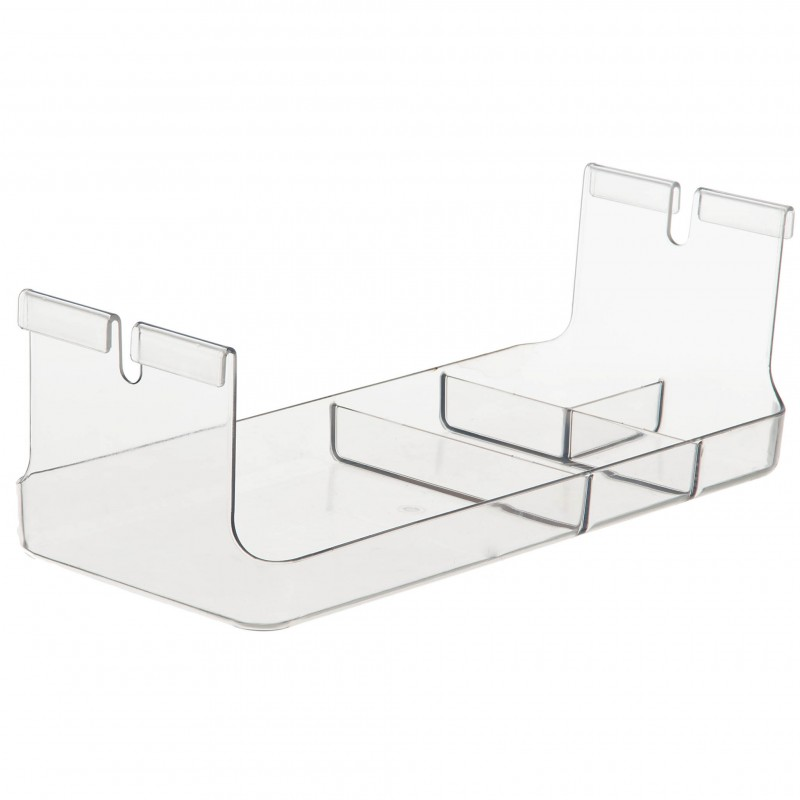 Organizador colgable 4 compartimientos Interdesign