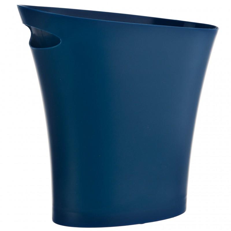 Basurero grande 7.5L Skinny azul Umbra