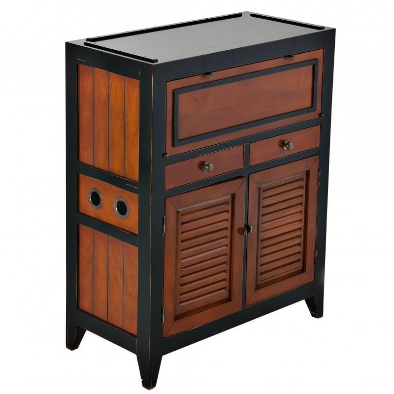 Mueble esquinero con gavetas Authentic Models