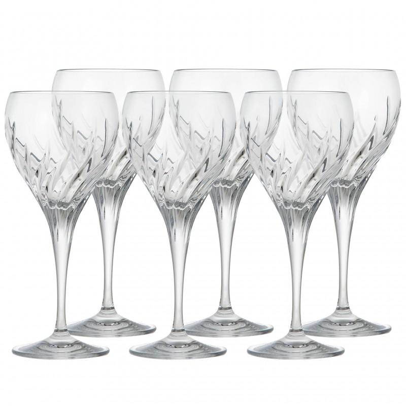 Juego de 6 copas para vino blanco Fiona Fire 270 ml Jihlavske