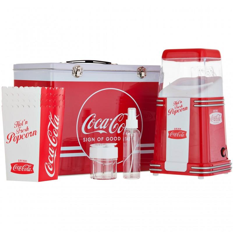 Máquina para Popcorn 12 piezas Coca-Cola 1040W Nostalgia