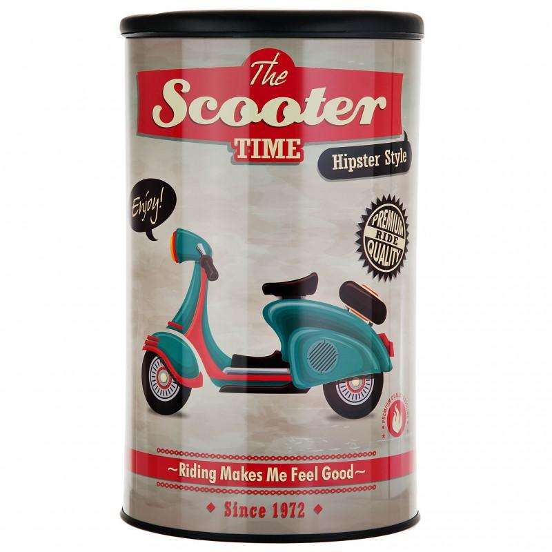 Banco / Hamper de acero Vintage Scooter Wenko