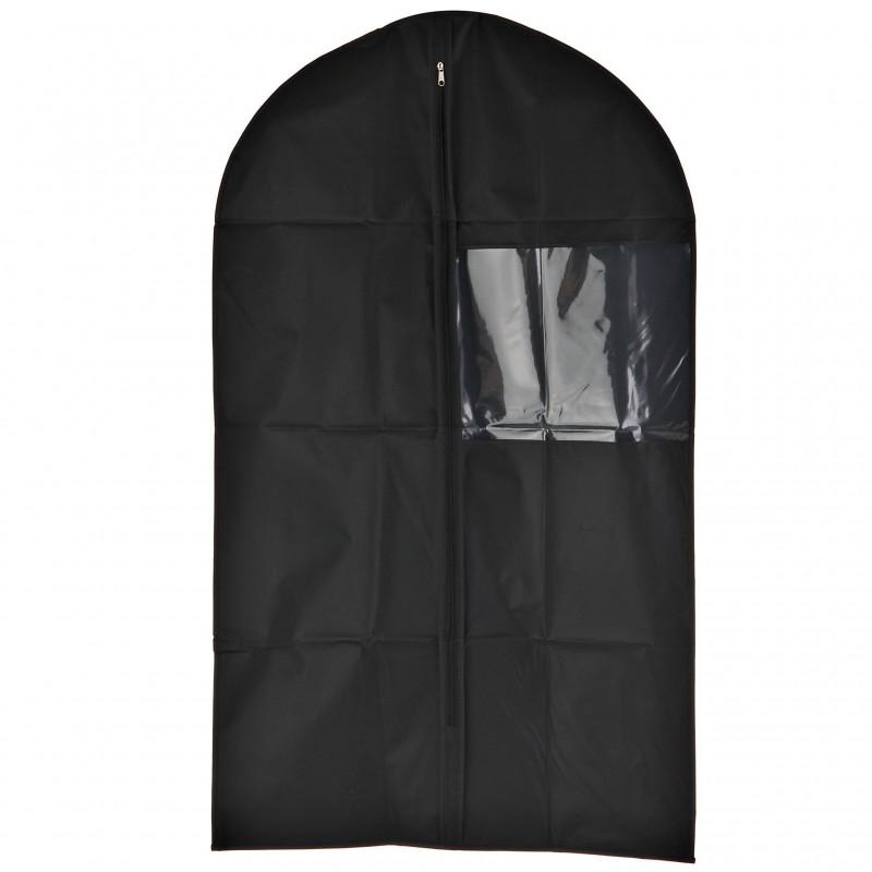 Porta terno plástico negro Wenko