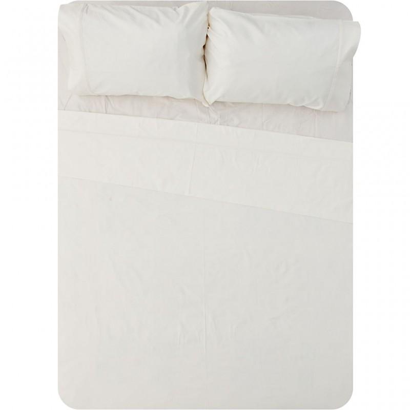 Juego de sábanas Pipping algodón 600 hilos Haus