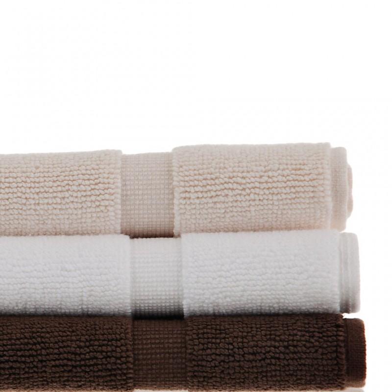 Pie de baño 80x50 cm Solid 100% algodón Haus