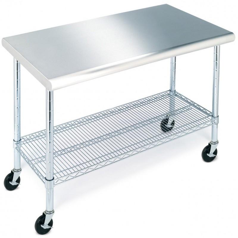 Mesa para cocina acero inoxidable