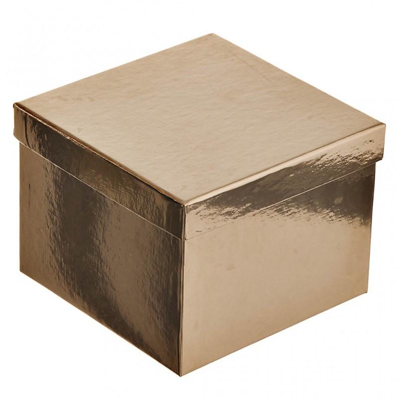 Caja para regalo surtido Navidad Metálica Lindy Bowman