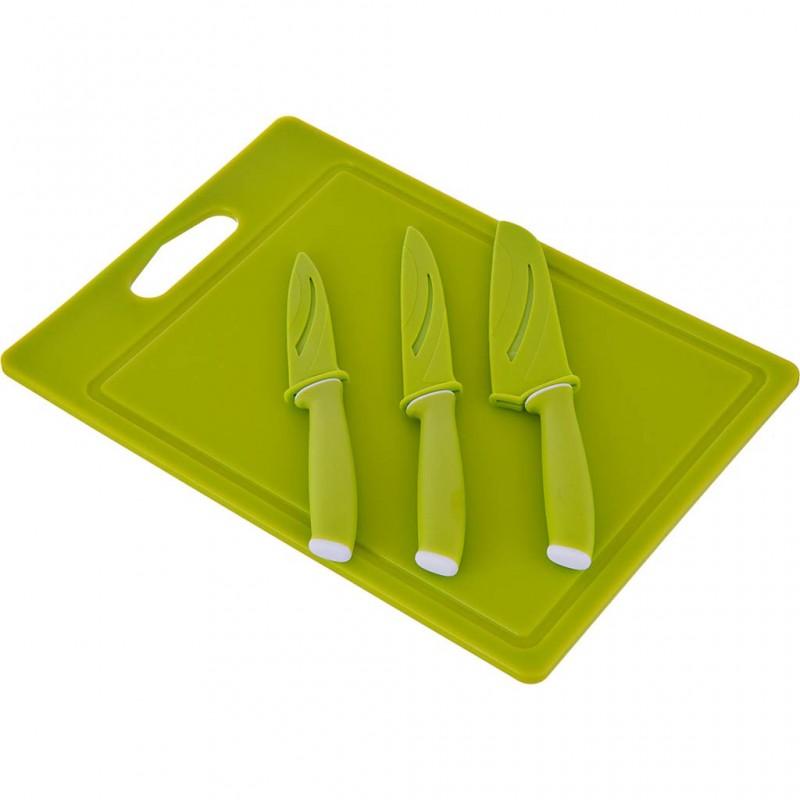 Tabla para picar con cuchillos antiadherente / acero inoxidable Novo