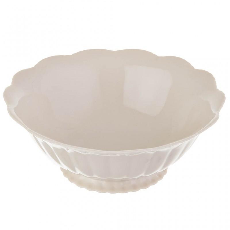 Tazón sopero 18 cm Borde Calado porcelana Haus