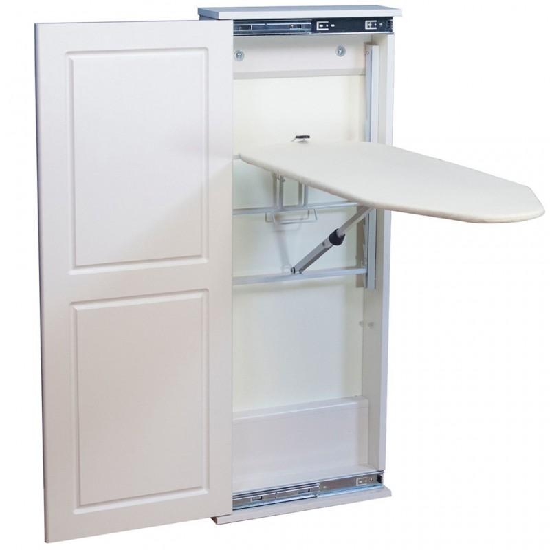 Tabla para planchar con mueble / repisa Household Essentials