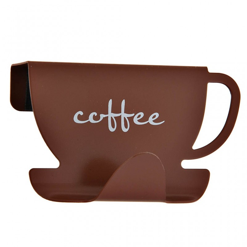 Gancho para gabinete de cocina Cofee Cup metal Wenko