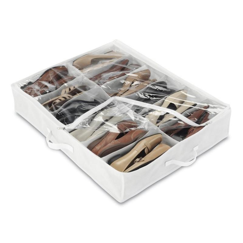 Organizador para zapatos bajo cama 12 servicios Whitmor