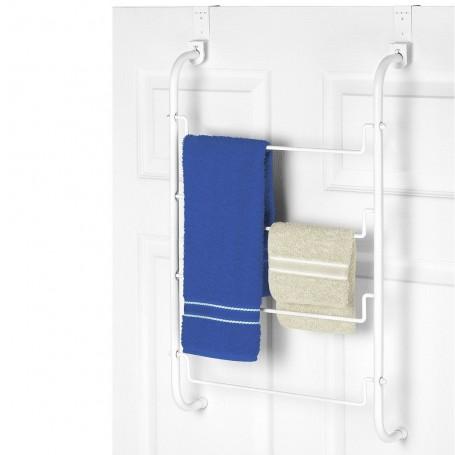 Organizador de puerta para toallas metal Whitmor