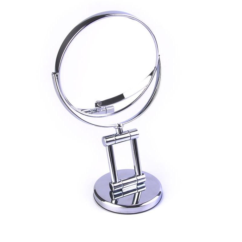 Espejo doble lado aumento 7x pedestal ajustable