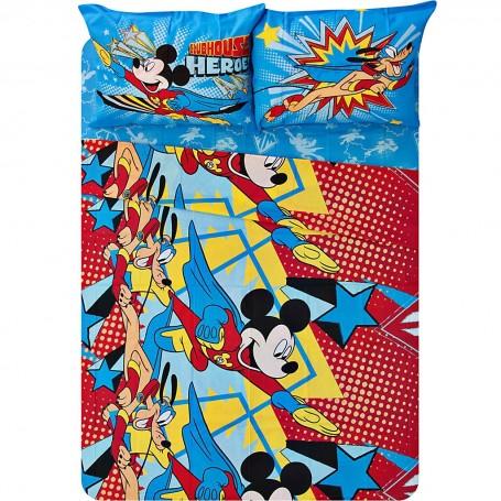 Juego de sábanas Mickey Adventure Disney