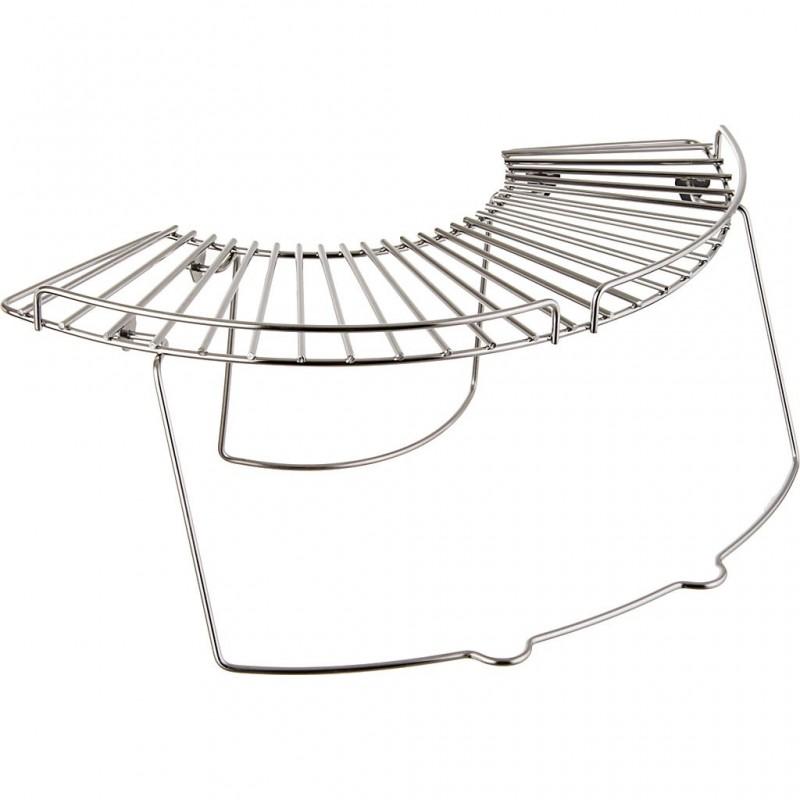 Parrilla plegable para calentar comida 60 cm acero inoxidable Peldar