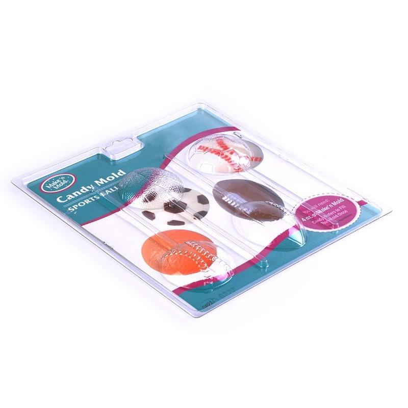 Molde para chupetes de chocolate pelotas Chocomaker