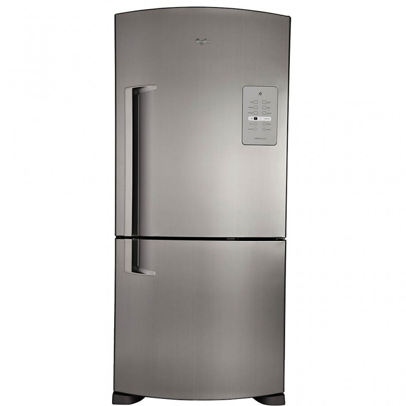 Whirlpool Refrigerador BF con pantalla Touch 565L WRE80BKTWW