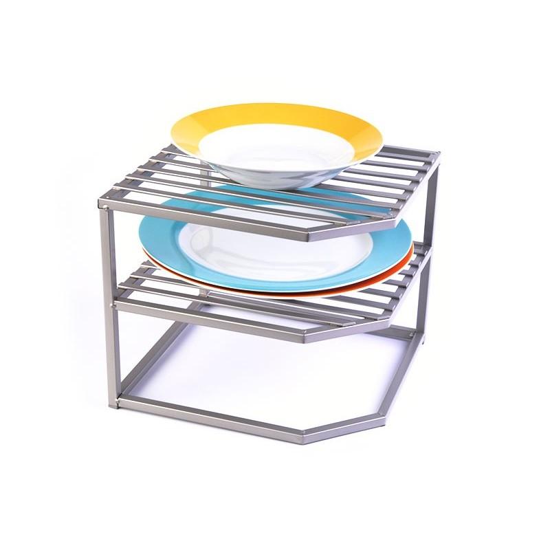 Organizador para platos de 3 niveles