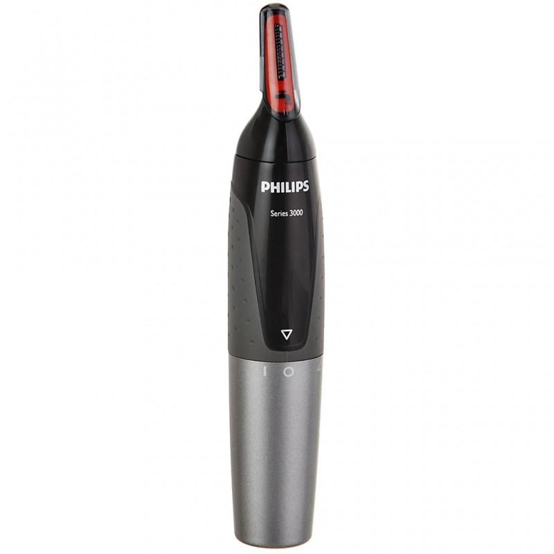 Recortador de vello / nariz / oídos / cejas resistente al agua Philips
