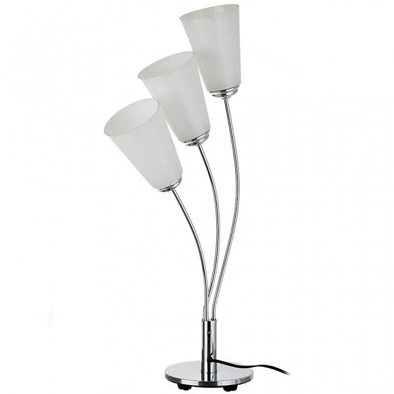 Lámpara de mesa con base metálica