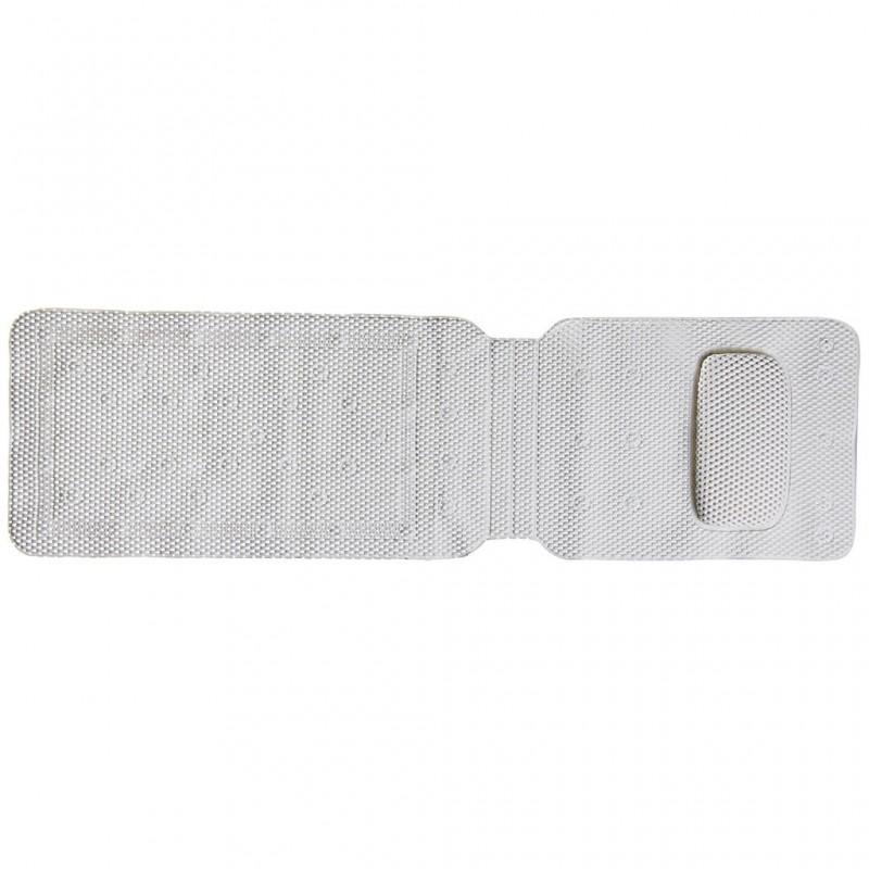 Antideslizante de bañera con almohada Ginsey