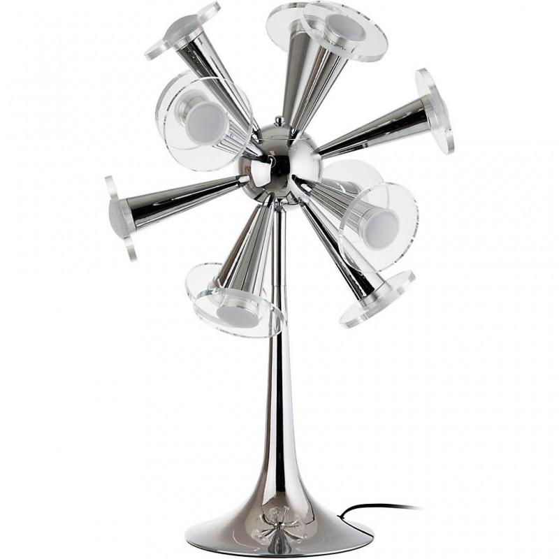 Lámpara de mesa Moderna metal / cristal