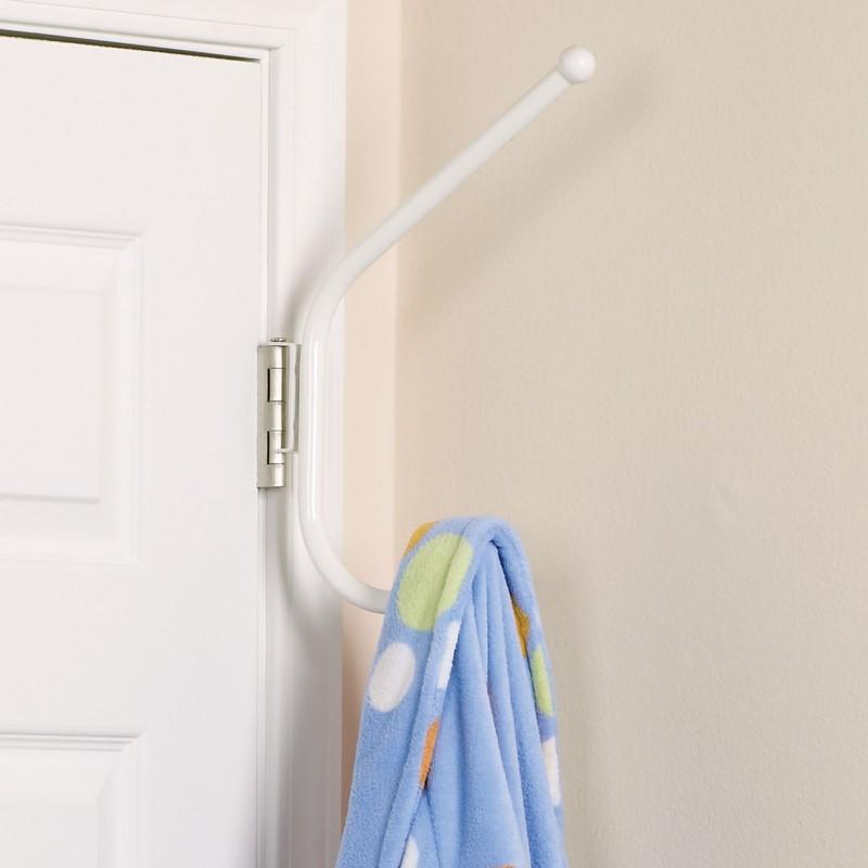 Organizador de puerta para toallas de baño 2 divisiones Household Essentials