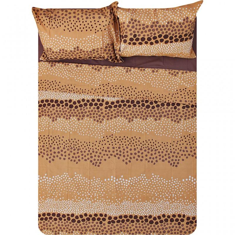 Juego de sábanas Lamia 180 hilos / polialgodón Saafartex