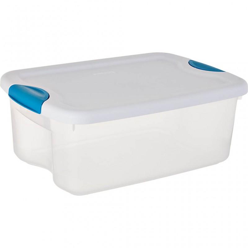 Caja organizadora con tapa y seguro 14 L Sterilite