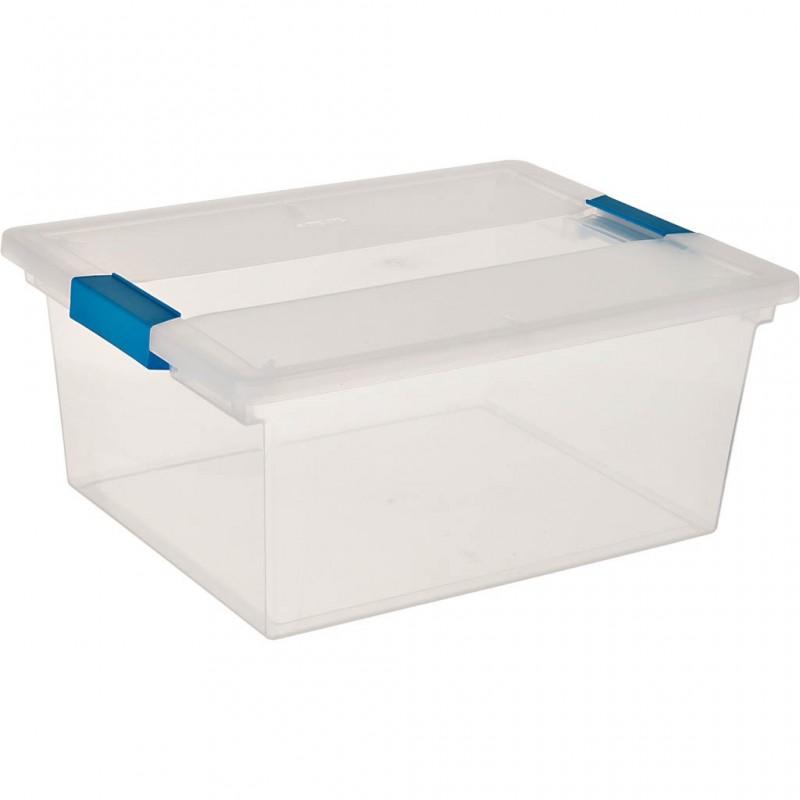 Caja organizadora profunda con seguro Sterilite