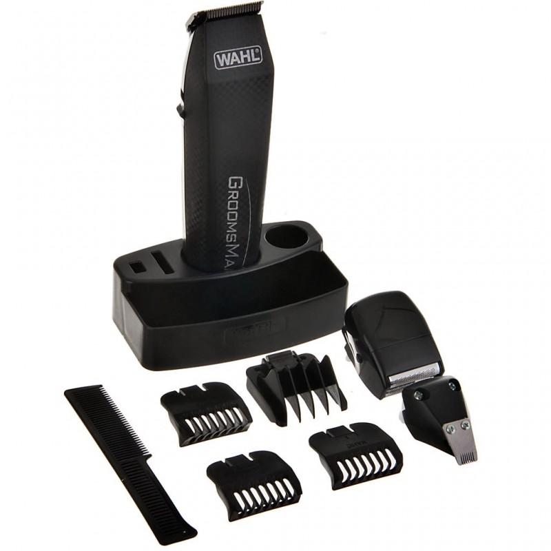 Cortador Precisión a batería Todo-en-1 barba / cabello / vellos 14 piezas Wahl