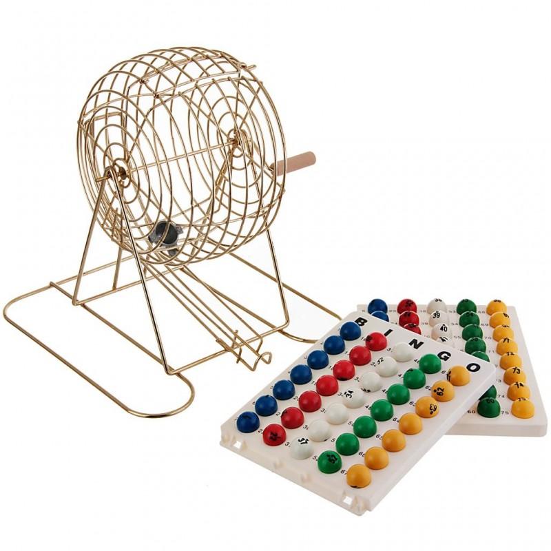 Rueda giratoria para bolas bingo Kem