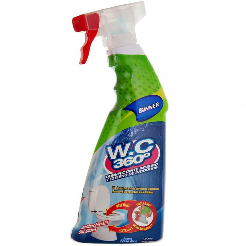 Desinfectante interno / externo para inodoros 750 ml Binner