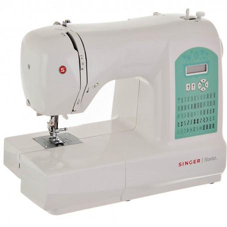 Máquina de coser digital 60 puntadas 4 ojales / ojalador automático 6660 Singer