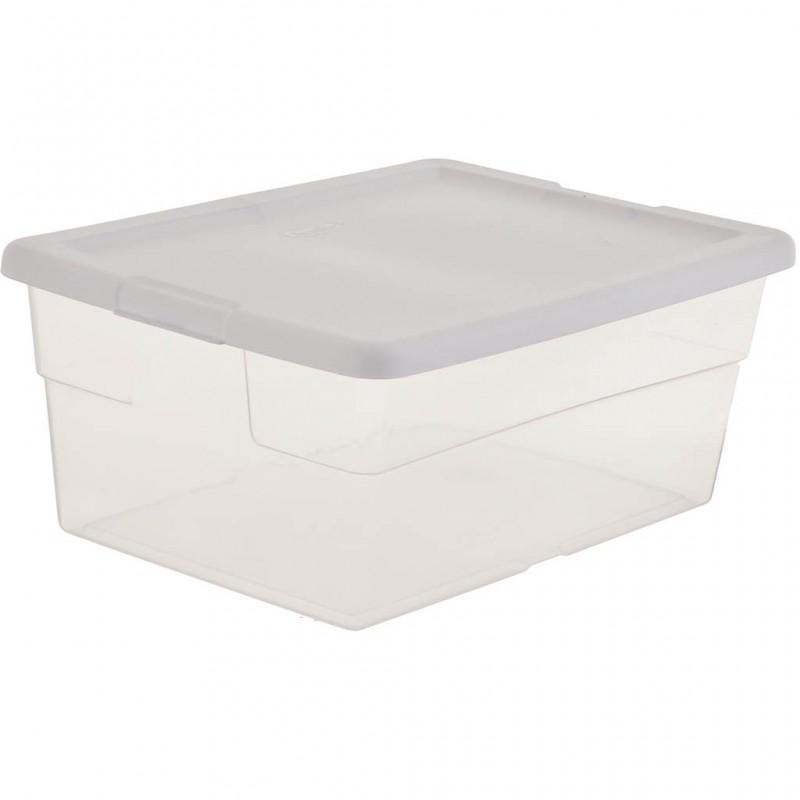 Caja multiusos con tapa 15 L plástico Sterilite