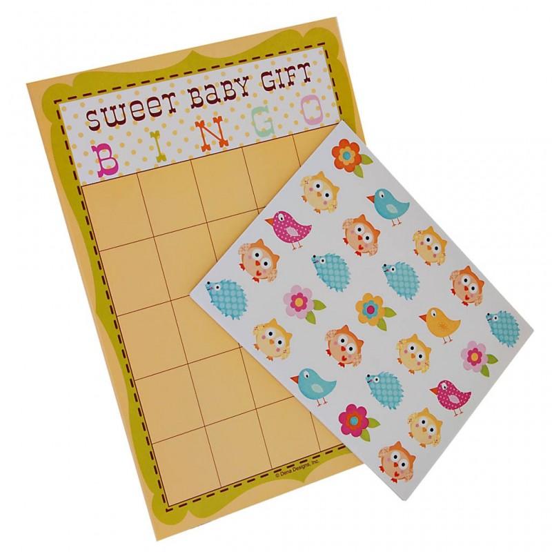 Juego de 10 bingo con stickers Happy Tree Creative Converting