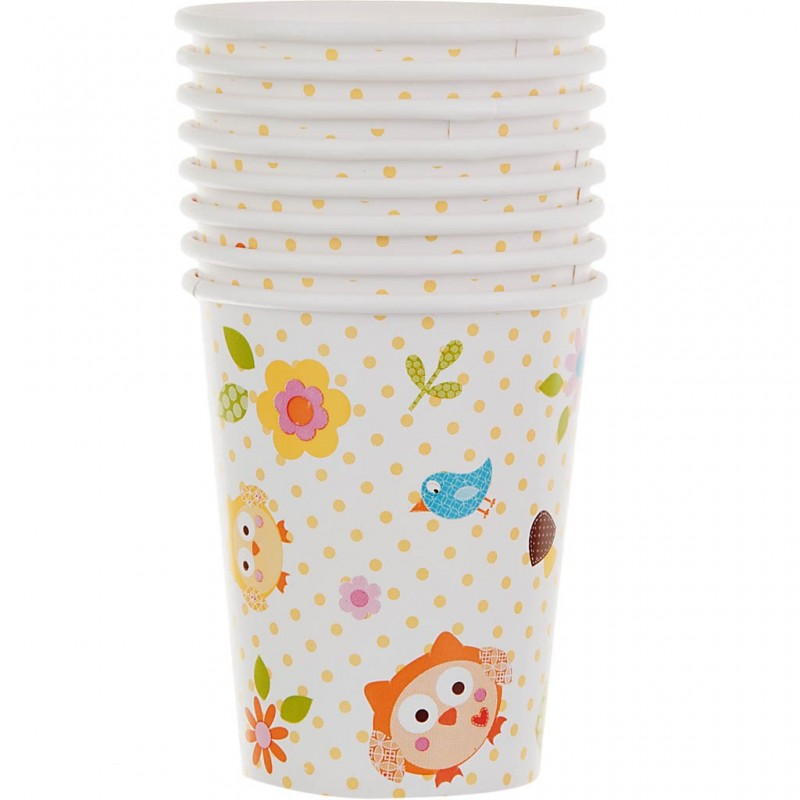 Juego de 8 vasos Happy Tree Creative Converting