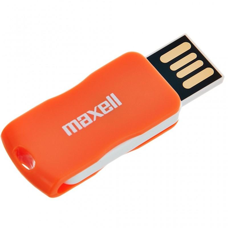 Flash memory 8 GB USBSW-8 Swivel Maxell