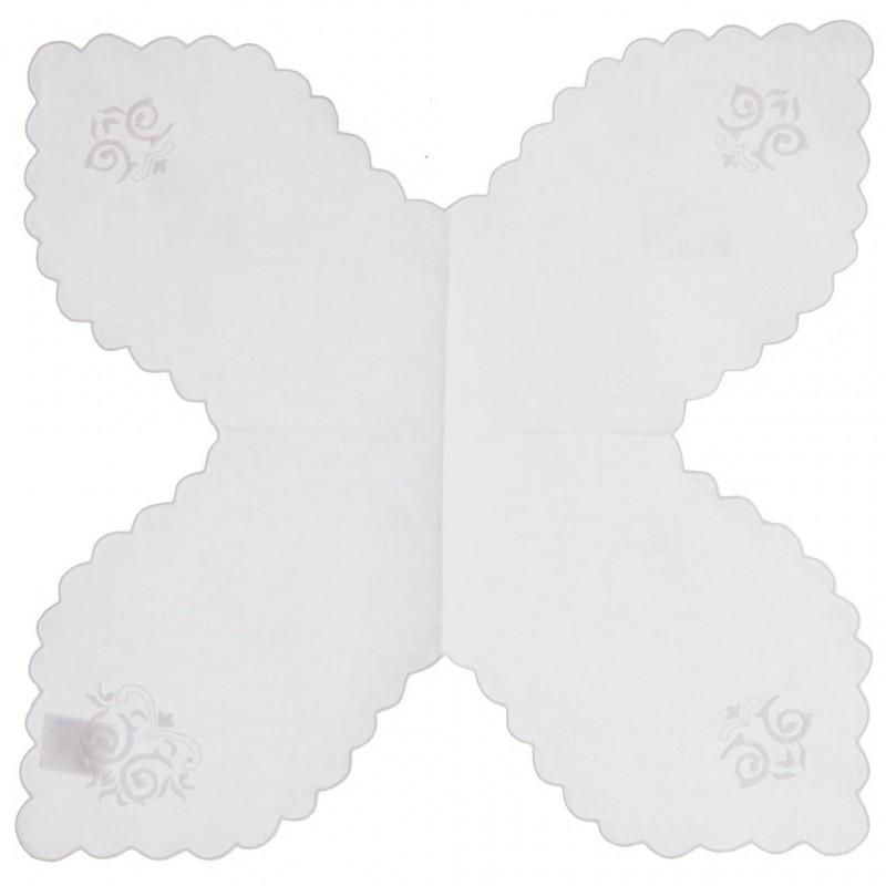 Panera 45x45 cm Borde Arabesco 100% algodón Haus