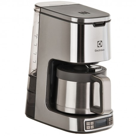 Cafetera con jarra térmica / apagado automático 1.25 L / 1000 W Electrolux