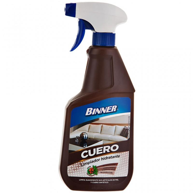 Limpiador hidratante para artículos de cuero 500 ml Binner
