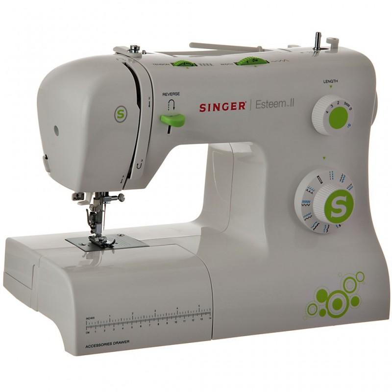 Máquina de coser 23 puntadas / ojalador automático / accesorios Singer